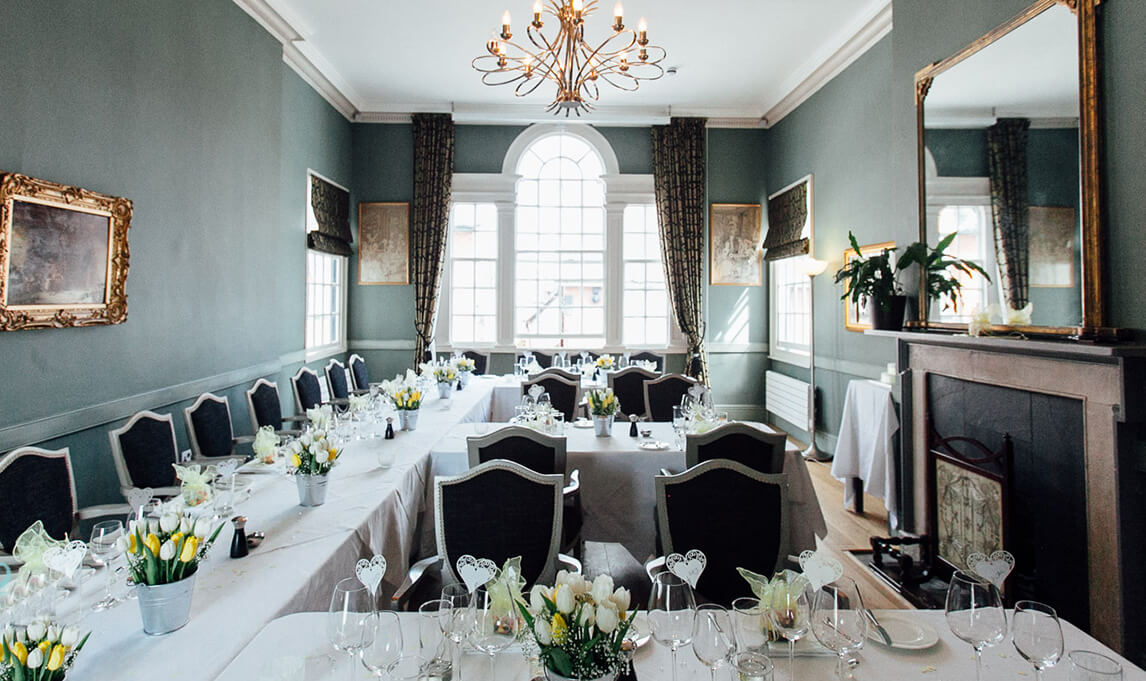 The Salutation Inn function suite Topsham